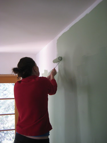 painting the kitchen walls