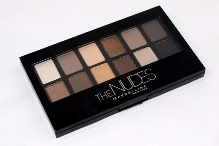 Paleta de sombras Maybelline The Nudes