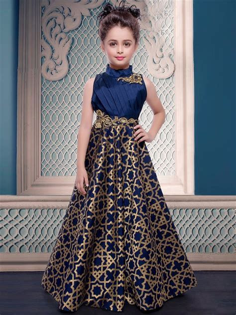 Details about Diwali Sale! Indian kids girls gown with