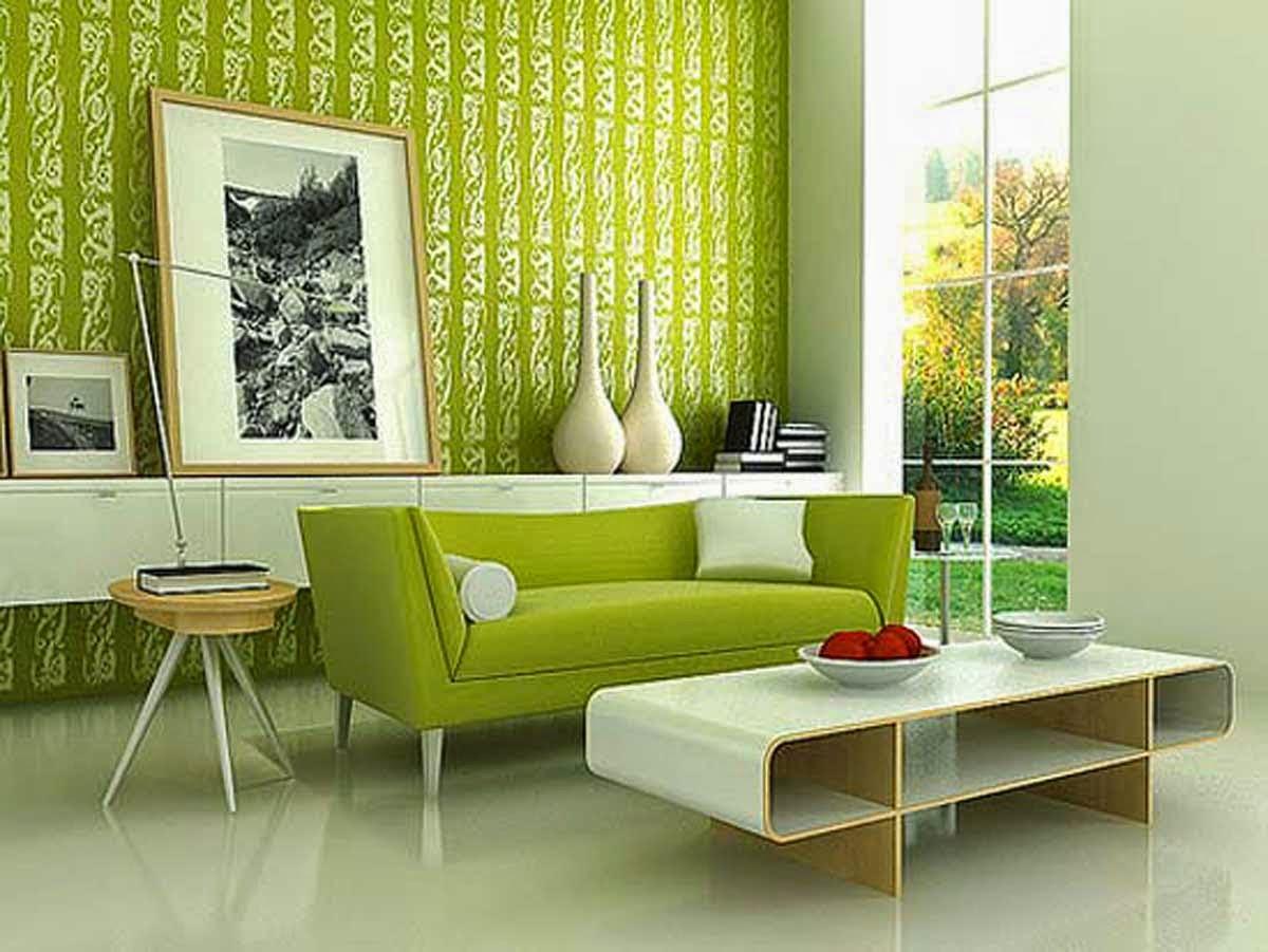 20 Model Sofa Minimalis Modern Untuk Ruang Tamu Kecil Hijau Desain
