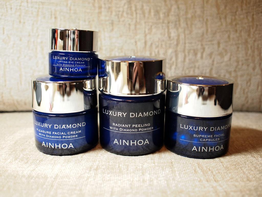 ainhoa luxury diamond skincare