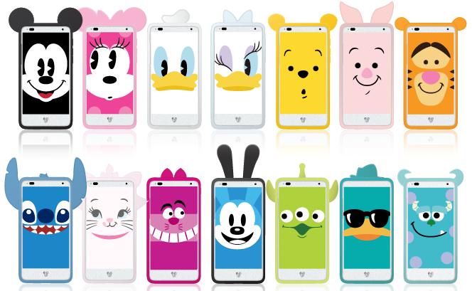 ディズニーモバイルsoftbank 4g対応スマートフォン Disney Mobile