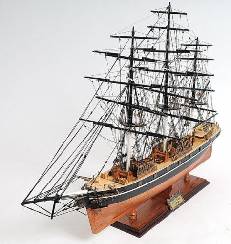 Tea Clipper Model, Clipper Ship Model, Model Ship, Wood Model