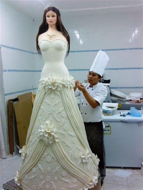 Amazing life size bride wedding cake   Wedding   Pinterest