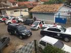 Assaltantes fazem funcionários reféns (Flávio Raimundo Chaves / Vanguarda Repórter)