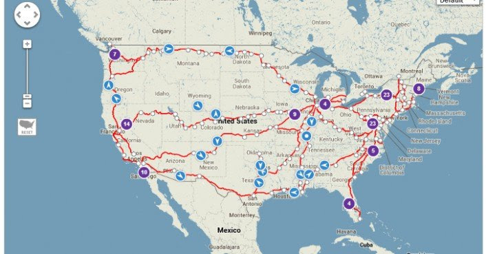 Amtrak Teams With Google To Create A Real Time Train