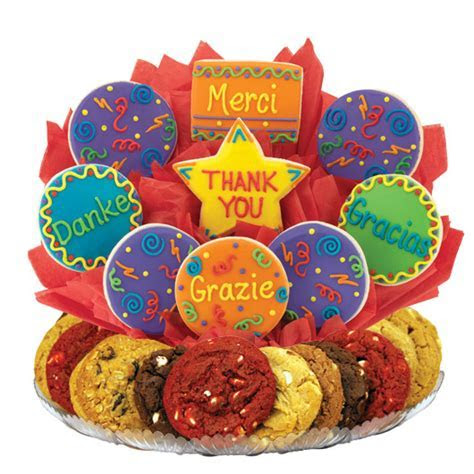 Many Thanks Cookie BouTray?   Cookies by Design