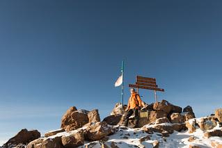 Me on Lenana Peak