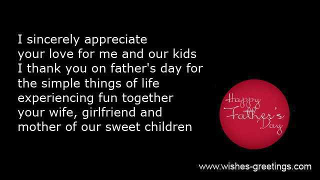 Fathers Day Poems Wife And Happy Quotes For Husband
