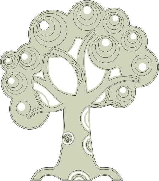 Tree with Swirls (Small)