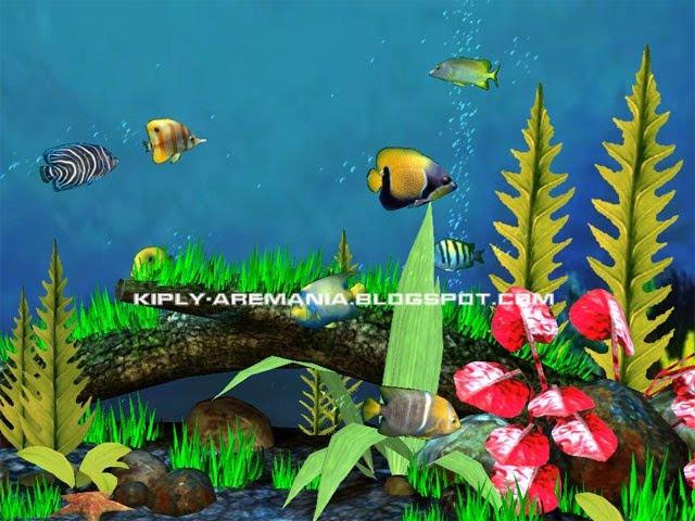 Wallpaper Animasi Aquarium Bergerak Komputer
