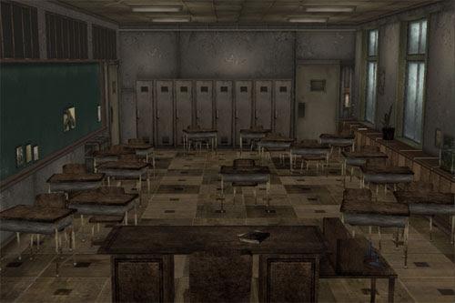 MMD Creepy Classroom