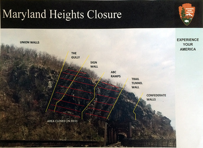 Image showing closed area of Maryland Heights