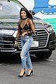 khloe kourtney kardashian leave the studio 01