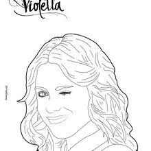 Dibujos De Violetta Para Colorear Imprimir Y Pintar 10 Dibujos De