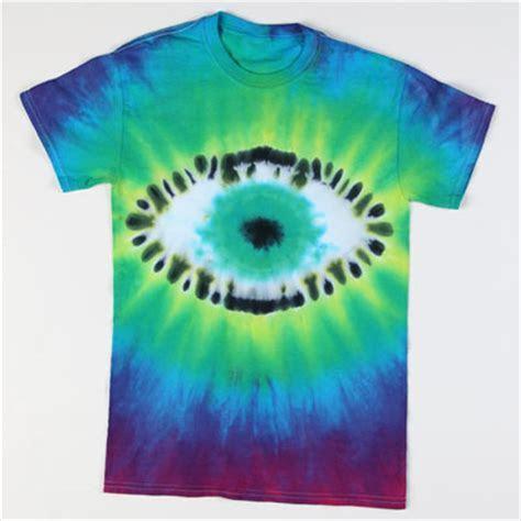 Rainbow Rock Tie Dye Eyeball T shirt   iLoveToCreate