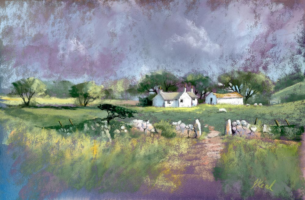 Farm Above Dinas Cross JK s