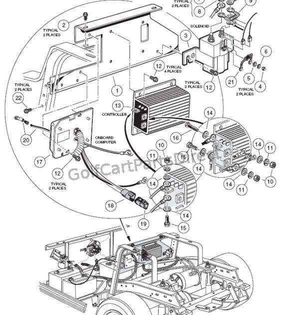 2004 Club Car Wiring Diagram 48 Volt - General Wiring Diagram