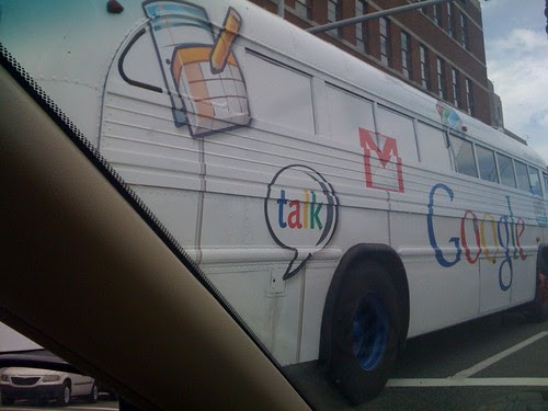Google bus by el frijole.