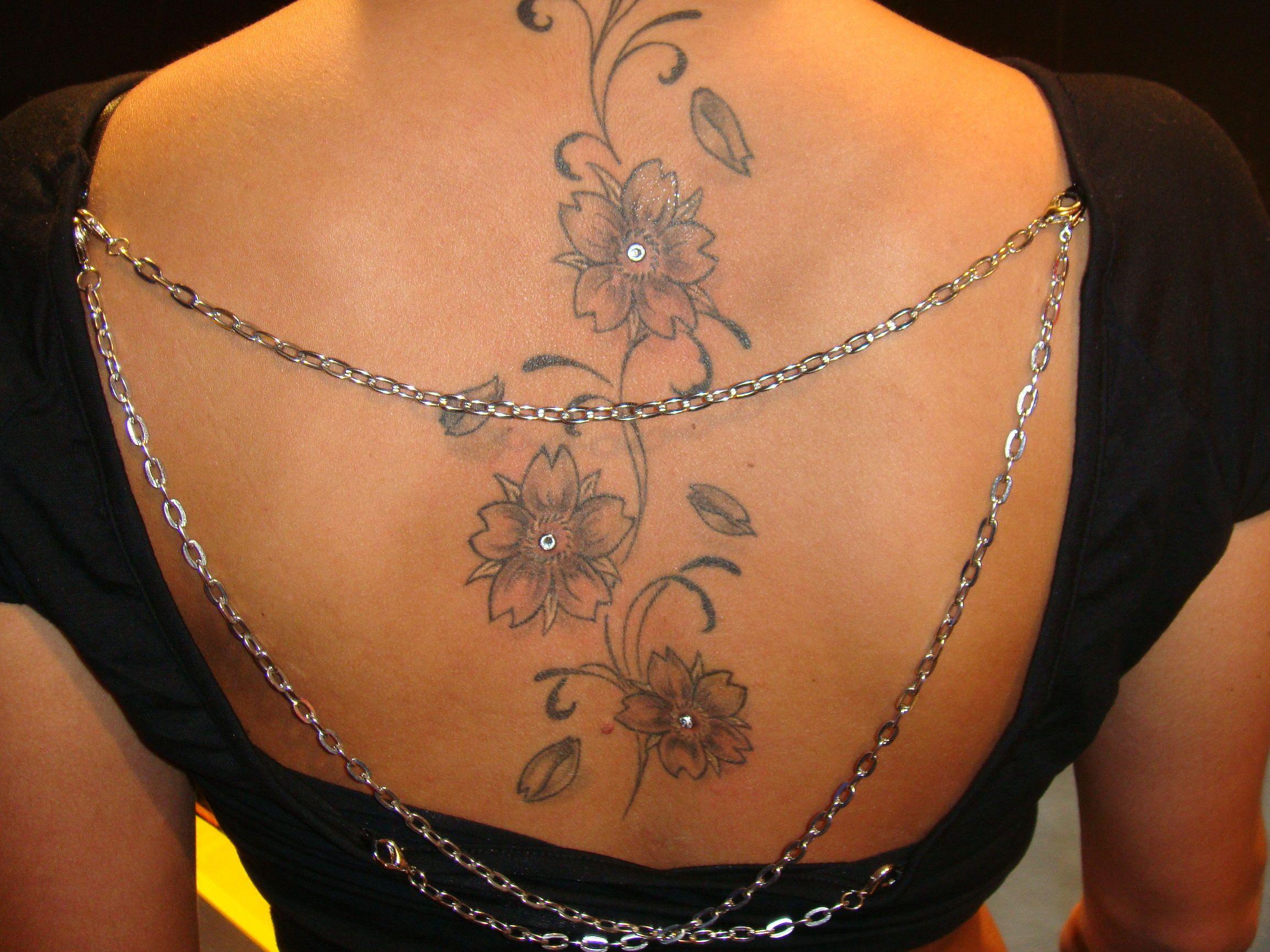 Intimbereich Tattoo