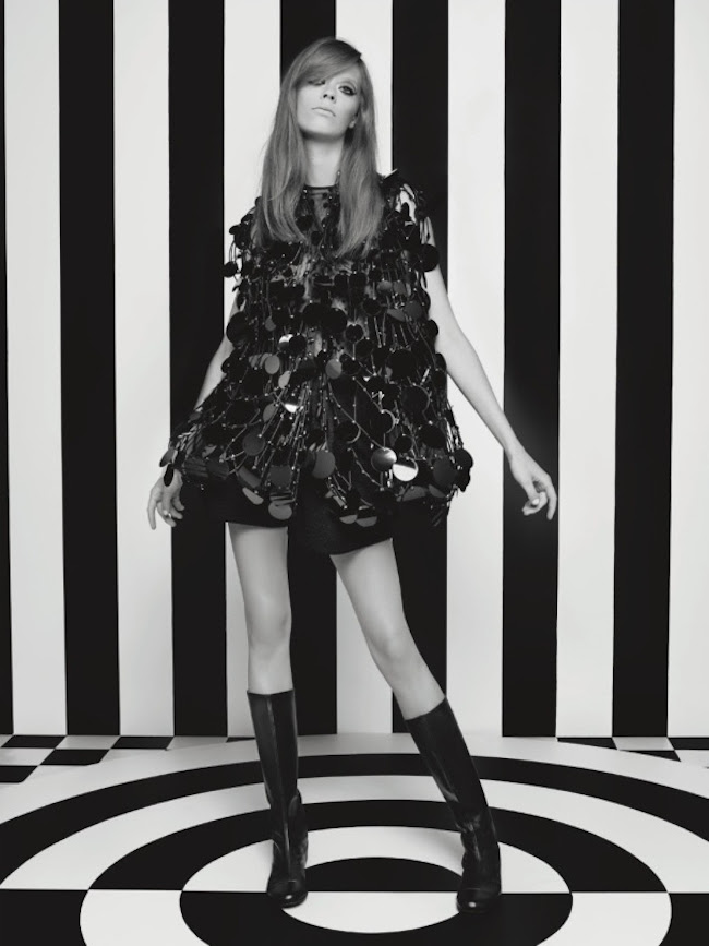 NUMERO MAGAZINE Sasha Luss, Maartje Verhoef & Lexi Boling in Pop Couture by Karl Lagerfeld. Vanessa Metz, September 2014, www.imageamplified.com, Image Amplified