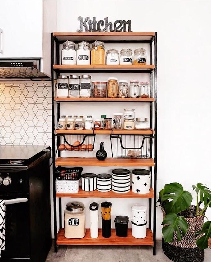 Bikin Rak Dapur Sederhana | Ide Rumah Minimalis