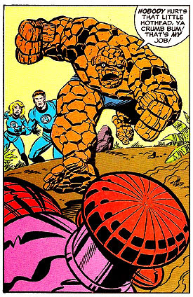 Fantastic Four: The World's Greatest Comic Magazine 32 panel