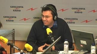 Gerard Pisarello durant l'entrevista a Catalunya Ràdio