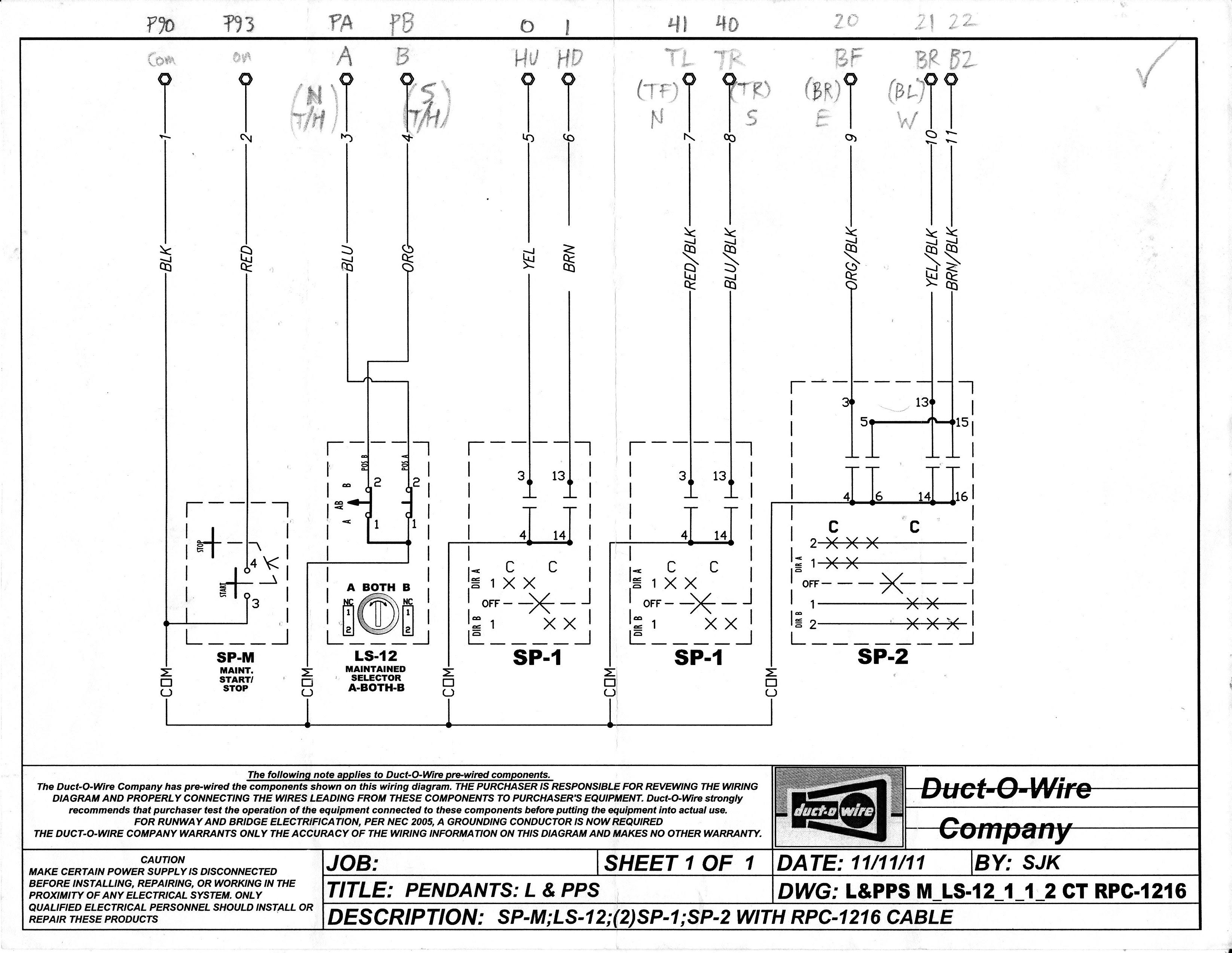 31 Crane Pendant Wiring Diagram