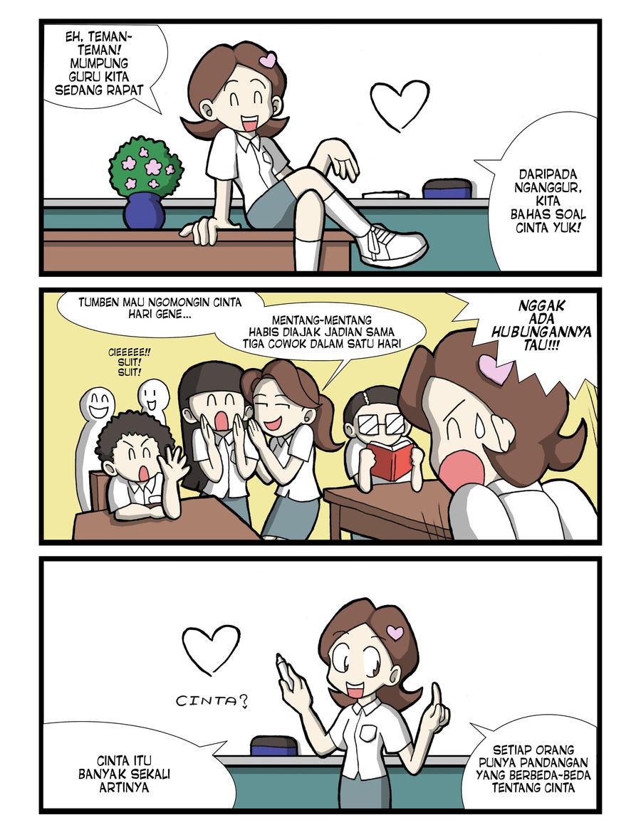 Komik Cinta 01 By Sandikarakhim On Deviantart