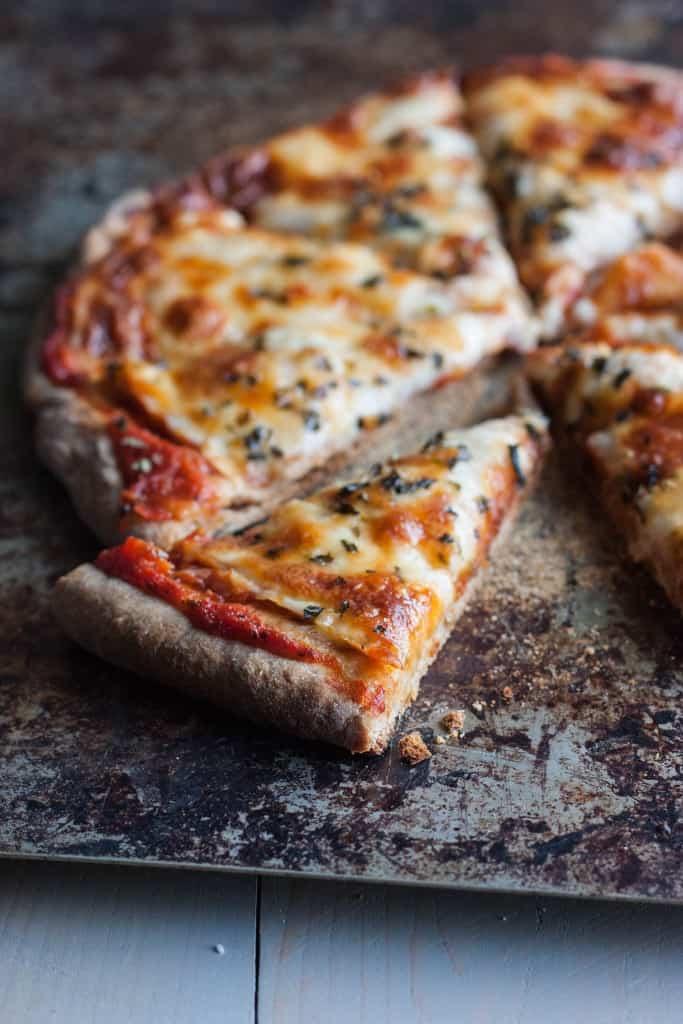 Fail Proof Whole Wheat Pizza Dough - Sweetphi