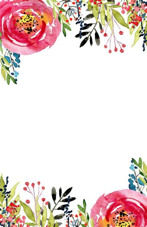 Floral Invitation Template {free printable}   Paper Trail