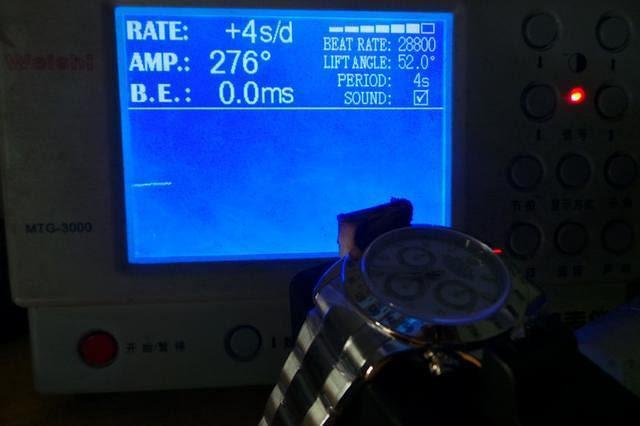 Rolex 116520 Accuracy Test