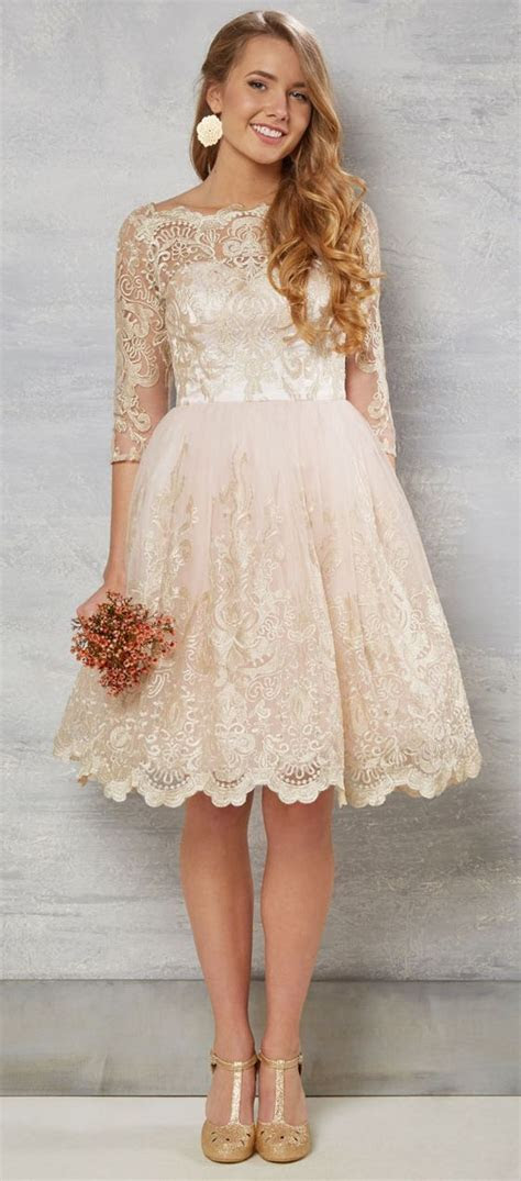 10  best ideas about Champagne Wedding Dresses on