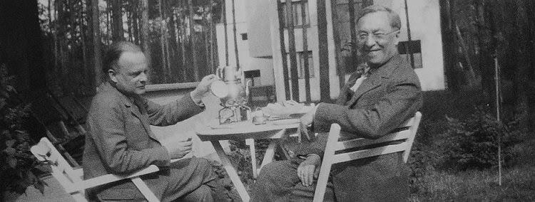 Wassily Kandinsky and Paul Klee