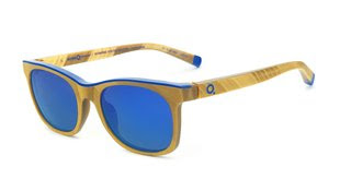 Klein Blue Sunglasses – Square Gold, by Yves Klein