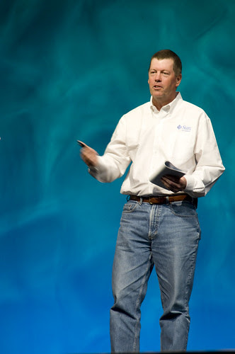 """Scott McNealy, General Session """"Java: Change (Y)Our World"""" on June 2, JavaOne 2009 San Francisco"""