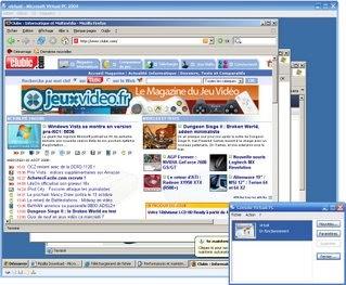 Entrez dans le virtuel avec VirtualPC 2007