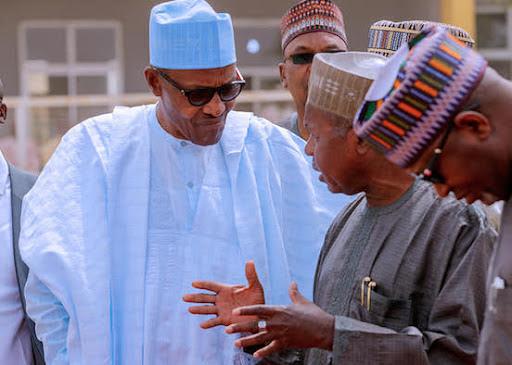 Masari with Buhari
