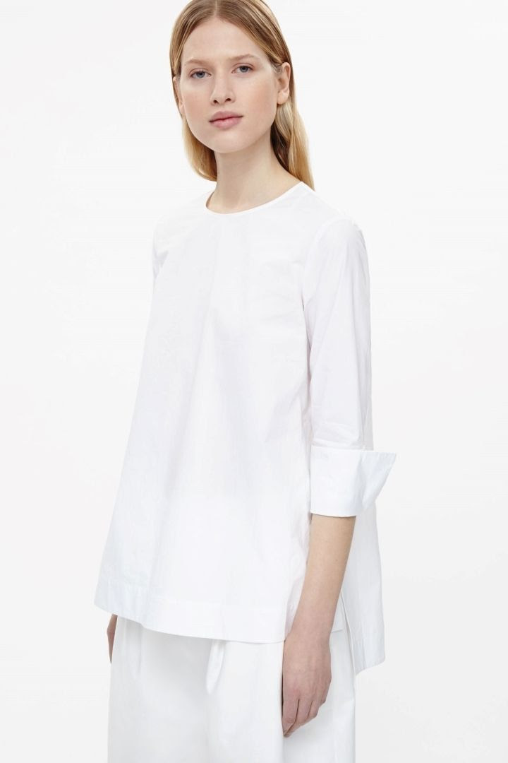 COS Cuffed Cotton Top