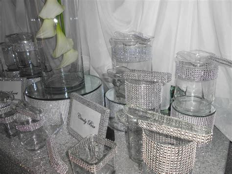 piece custom bling candy bar buffet tradesy weddings
