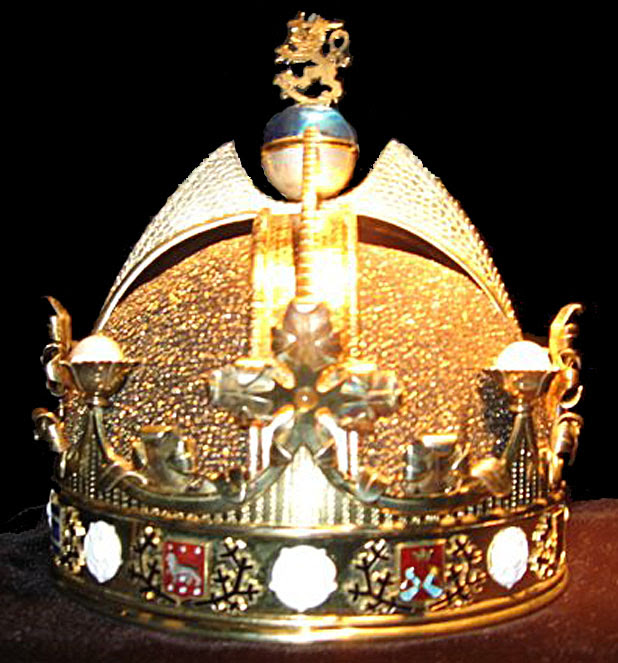 Crown designed for the King of Finland