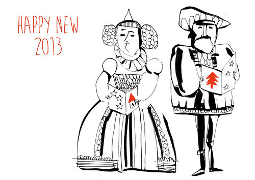 wish you 2013 by la casa a pois