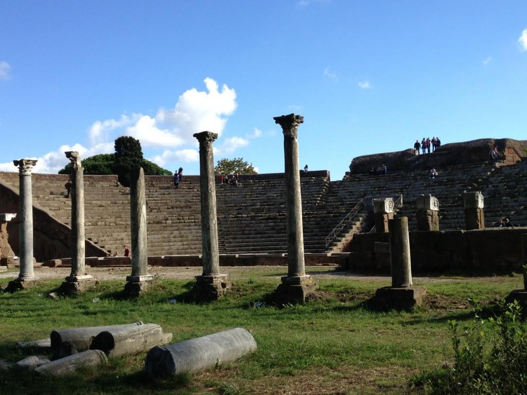 Ostia Antica - Theater - Featured