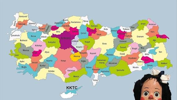 【Ücretsiz indirin】 Iller Türkiye Haritası Boyama