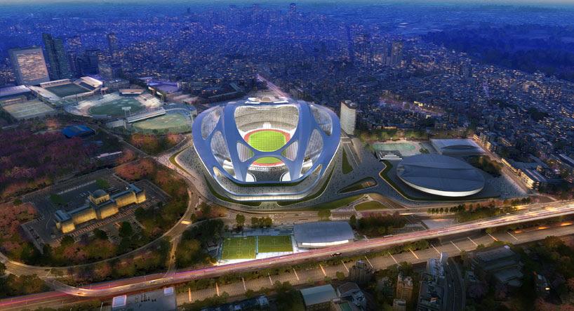 Football Stadium of Tokyo 2020 Olympic