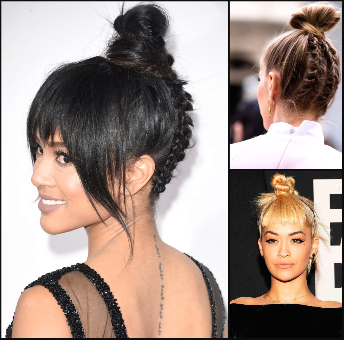 Cutest Top Knots 2016 Summer Long Hairstyles