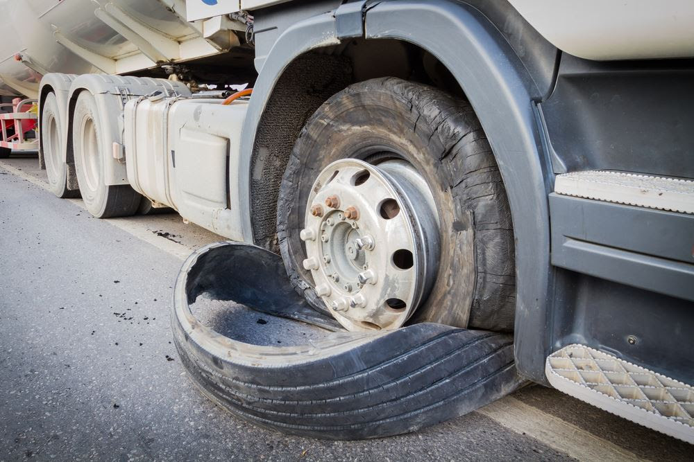 Causes Of Summer Truck Tire Blowouts