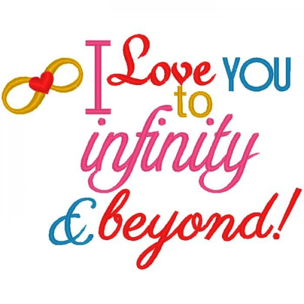 Love You To Infinity And Beyond Nobbieneezkids