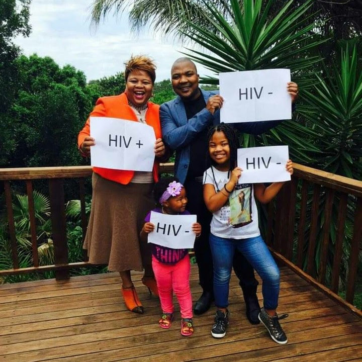 Family Of 4 Show Their HIV Status: Wife Positive, Husband & Daughters Negative